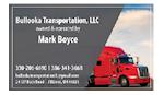 Bullooka Transportation